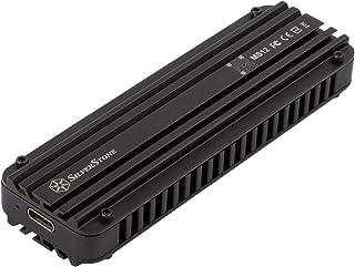 SilverStone M.2 NVMe SSD用 USBメモリ変換 20Gb/s対応 アルミニウム合金製高速エンクロージャー SST-MS12 日本正規代理店品