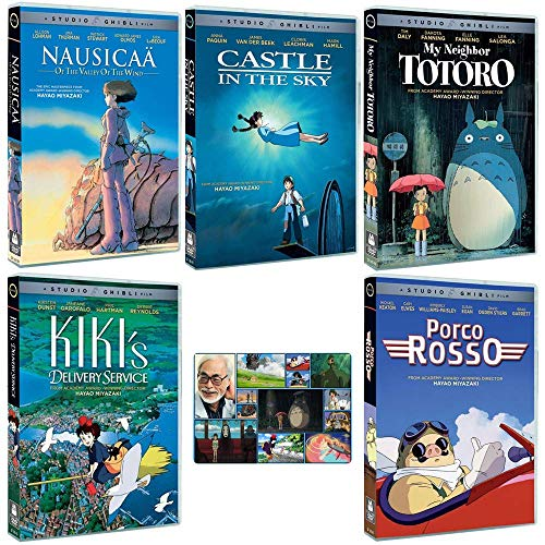 The Founders Collection: Written & Directed by Hayao Miyazaki (Nausicaa of the Valley of the Wind / Castle in the Sky / My Neighbor Totoro / Kiki