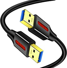USB 3.0 A to A Male Cable 10 FT,USB to USB Cable Type A...