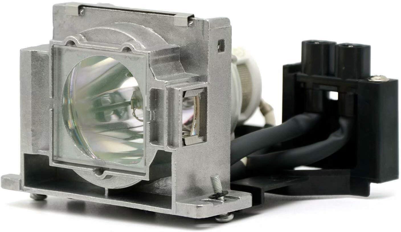 PHO VLT-EX100LP Genuine Original Replacement Bulb/Lamp with Housing for Mitsubishi ES10U EX100 EX100U Projector (OEM Ushio Bulb)