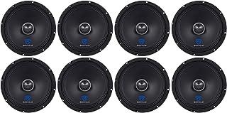 "(8) Rockville RXM84 8"" 2000w 4 Ohm Mid-Range Drivers Car Speakers, Mid-Bass photo"