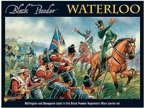 orden ahora disfrutar de gran descuento Waterloo - negro negro negro Powder Starter Set by Warlord Games  Con precio barato para obtener la mejor marca.