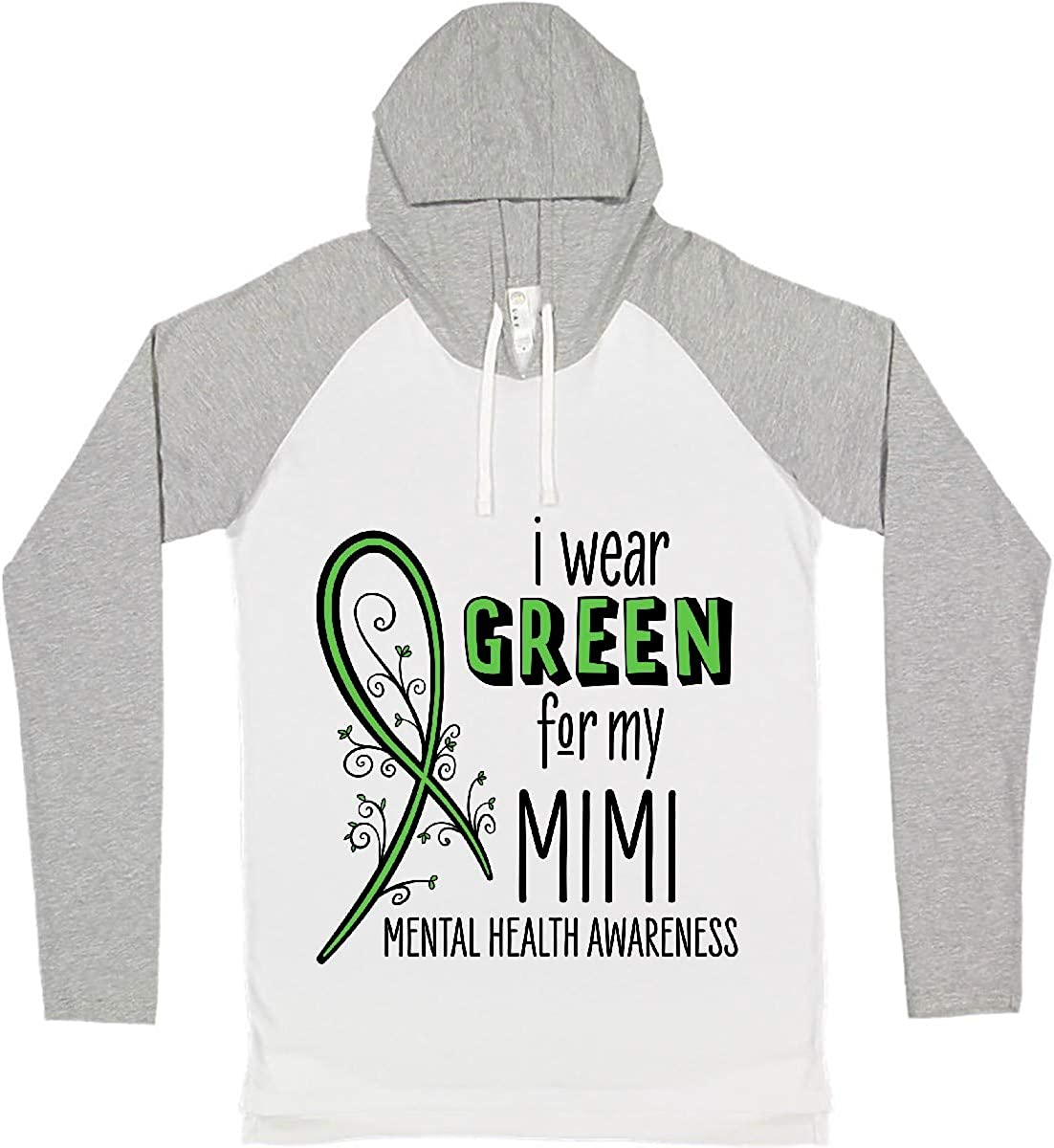 inktastic I Wear Green Price reduction for My Mental Awareness Health Long Ranking TOP4 Mimi-