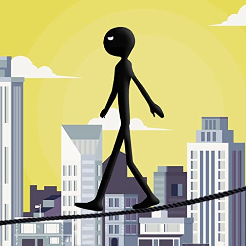 Stickman Tight Rope Walker