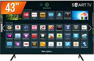 "Smart TV LED UHD 4K 43"", Samsung, UN43NU7100GXZD"