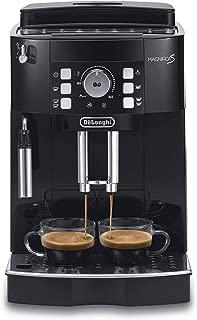 Delonghi super-automatic espresso coffee machine with an adjustable grinder, manual cappuccino maker, for brewing espresso, cappuccino, latte. ECAM21117B MagnificaS