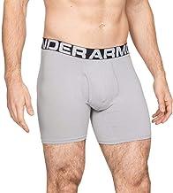 Under Armour Heren Charged Cotton 6-in-3 Pack elastische en sneldrogende boxershorts, extra comfortabele onderbroeken met ...