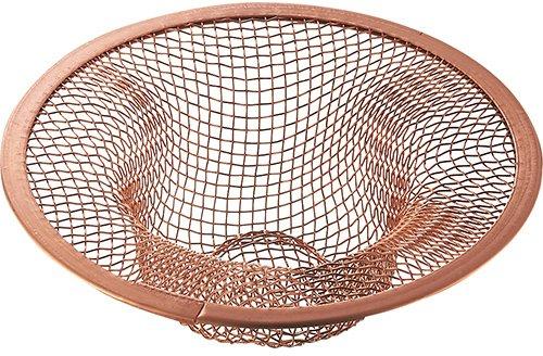 SANEI 排水口のゴミ受け アミゴミキャッチ 銅の殺菌効果でヌメリやつまりを防止 PH6200F-3-L