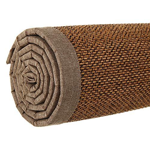 JIAJUAN Fibres Naturelles Japonais Traditionnel Bambou Antidérapant Sol Tapis Intérieur Accueil Salon Chambre Zone Tapis (Couleur : C, Taille : 50x100cm)