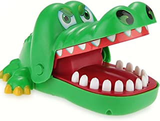 Oun Nana Crocodile Toy (6.3 x 5 x 3 in) Crocodile Biting Finger Game Funny Toys