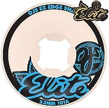 OJ Ez Edge 101a Skateboard Wheel 53mm White