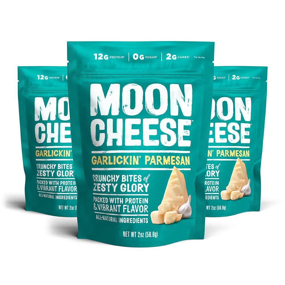 Moon Cheese OFFicial site Garlickin' Parmesan Low-carb Direct stock discount 100%