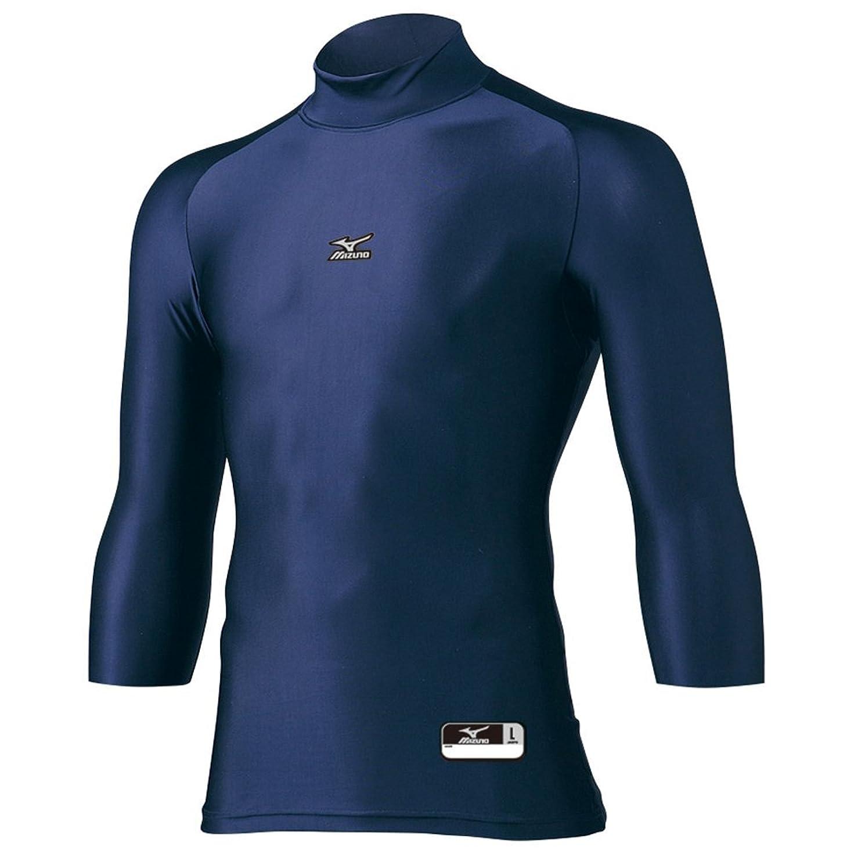上にカメ彼自身MIZUNO(ミズノ) バイオギア ハイネック七分袖シャツ 12JA4C20
