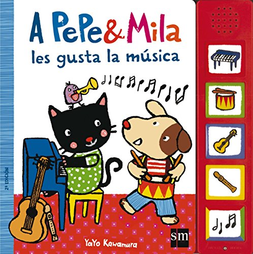 A Pepe y Mila les gusta la música