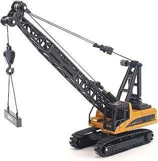 Heavy Crane Truck Alloy Die-Cast Model Toy Engineering, 1:50 Metal Vehicle Car Simulation Miniature Crawler Model Toys Col...