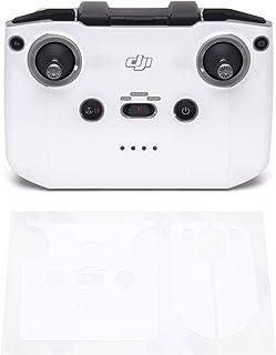 Wrapgrade Skin kompatibel med DJI Mini 2 | Fjärrkontroll (RACING WHITE)