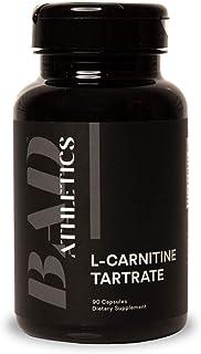Bad Athletics L-Carnitine Tartrate 1000mg Per Serving- 90 Capsules