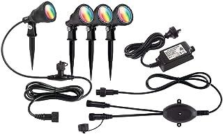 Brilliant Smart Botanic 3W LED RGB Garden Spike Light Kit IP68 (4 Pack)