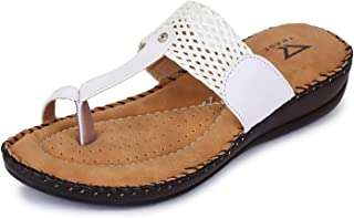 TRASE Doctor - Plus Mesh Ortho Slippers for Women (with Comfortable Doctor Sole)