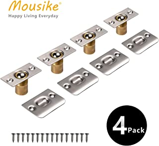 Mousike Cabinet/Closet Door Ball Catch,Stainless Steel Adjustable Ball Catch Door Hardware (4Pack)