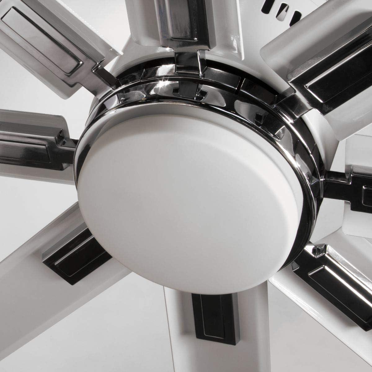 Vast Collection 72-Inch 8-Blade Bronze Modern Ceiling Fan