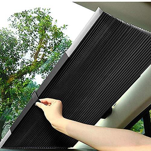 yinbaoer Parasol Coche Delantero Enrollable Proteccion Solar Parasol Coche Infantil Lateral PortáTil Parasol para Coche Bebe Autopartes