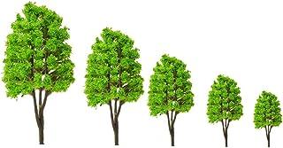 NUOBESTY 10 st modell träd tåg landskap arkitektur träd falska träd för järnväg arkitektur diorama gör-det-själv landskap ...