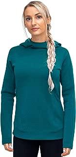 Elsie - Women's Heavyweight Hoodie - Pullover Merino Wool Sweatshirt