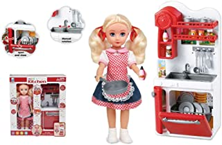 Basmah KITCHEN PLAY SET&DOLL 18-66085-2