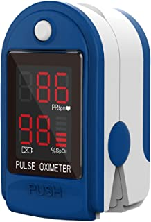ClinicalGuard CMS 50-DL Fingertip Pulse Oximeter with Neck/Wrist Cord, Blood Oxygen..