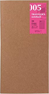 Midori Traveler's Notebook (Refill 005) 2 Month Diary grid