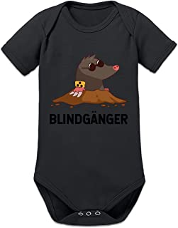 Shirtcity Blindhänger Maulwurf Baby Strampler by
