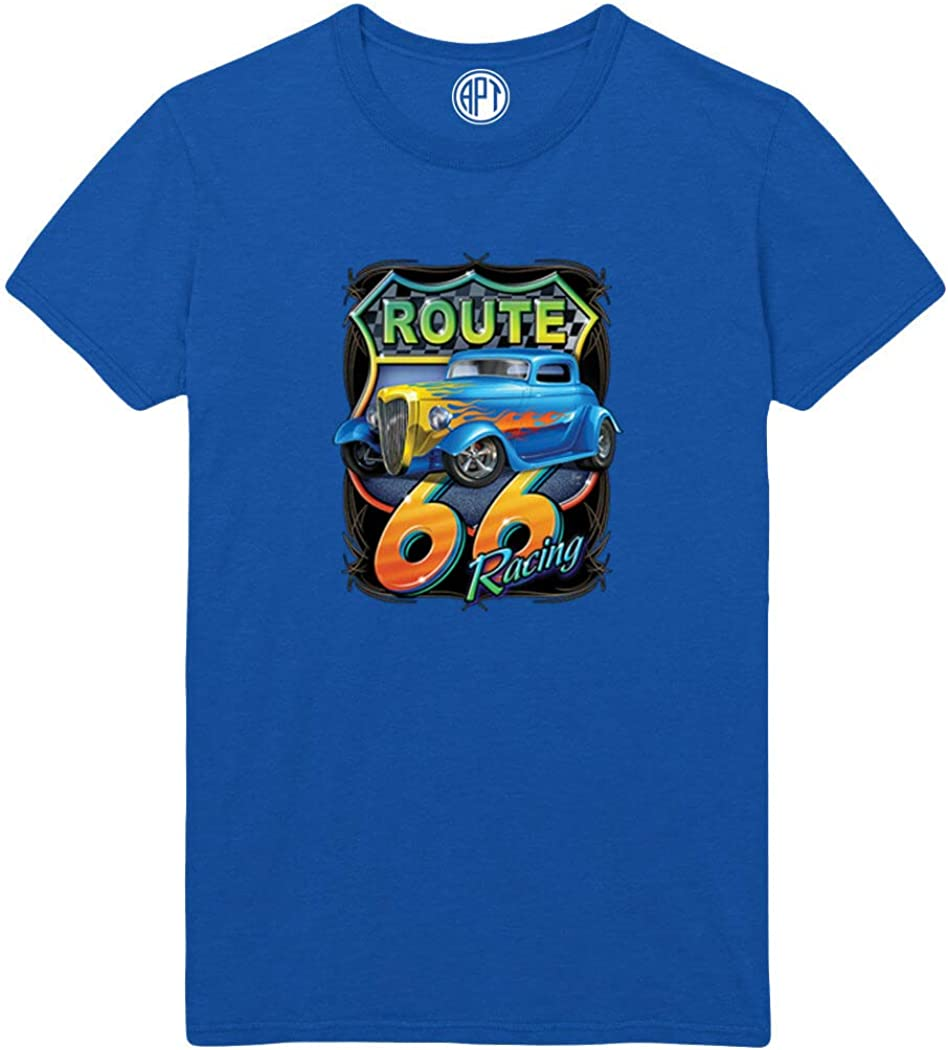 Route 66 Racing Printed T-Shirt