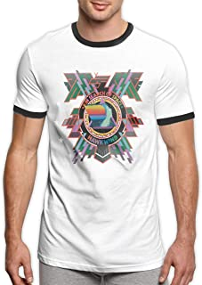 Hawkwind in Search of Space Men Loose and Breathable Short-Sleeved T-Shirt