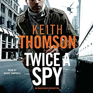 Twice a Spy audiobook cover art