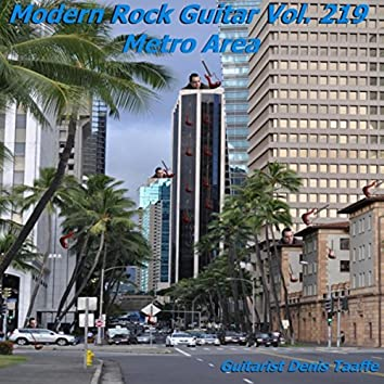 Modern Rock Guitar, Vol. 219: Metro Area