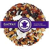 Núm. 1409: Té de frutas 'Piña colada virgen' - hojas sueltas - 100 g - GAIWAN GERMANY - manzana, rosa mosqueta, hibisco, hojuelas de coco, piña