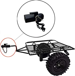 Metal Hitch Trailer Hook for SCX10 90046 Traxxas TRX4 1/10 RC Crawler Car Accessory