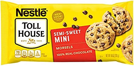 Nestle Toll House Semi-Sweet Chocolate Chips Mini Morsels, 12 Count