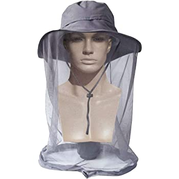 ayamaya Mosquito Net Sun Hat with Neck Face Cover for Men Women