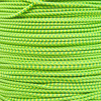 Versatile PARACORD PLANET 25 50 or 100ft lengths Multi-Color Shock Cord in 1//8 Inch Diameter Choose From 10