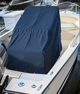 Heavy Duty Boat Center Console Cover,  600D Waterproof Rainproof Upgraded Marine Grade Polyester Canvas