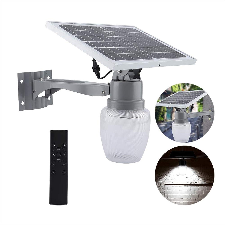 LED Solar Powered Wall Lamp Outdoor Waterproof Lighting with Human Body Sensor Garden Light