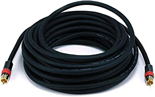 Monoprice 35ft High-quality Coaxial Audio/Video RCA CL2 Rated Cable - RG6/U 75ohm (for S/PDIF, Digital Coax, Subwoofer & Composite