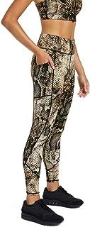 Rockwear Activewear Women's Fl Seam Detail Pocket Tight from Size 4-18 for Full Length Bottoms Leggings + Yoga Pants+ Yoga...