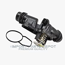 Engine Thermostat + Housing + Sensor + Gasket for BMW 320i 323i 325i 328i 330i 525i 528i 530i 323Ci 325Ci 328Ci 330Ci 325xi 330xi X3 X5 Z3 Z5 Premium 11537509227 New