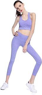 Bonjanvye Activewear Sets Yoga Set for Women