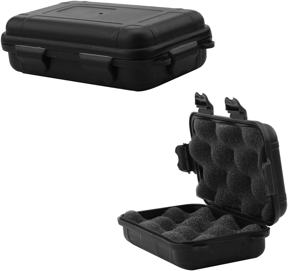 4Pc Outdoor Tool Small Survival Storage Box Shakeproof Waterproof Container