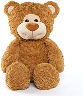 Tezituor Big Teddy Bear Giant Plush Teddy Bears Stuffed Animals Gift for Girlfriend Kid, Brown 30inch