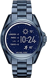 Michael Kors Access, Womens Smartwatch, Bradshaw Navy-Tone Stainless Steel, MKT5006